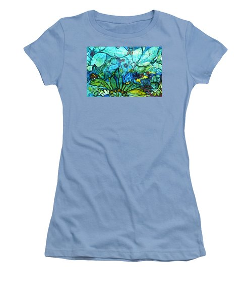 Underwater Fantasy Women's T-Shirt (Athletic Fit)