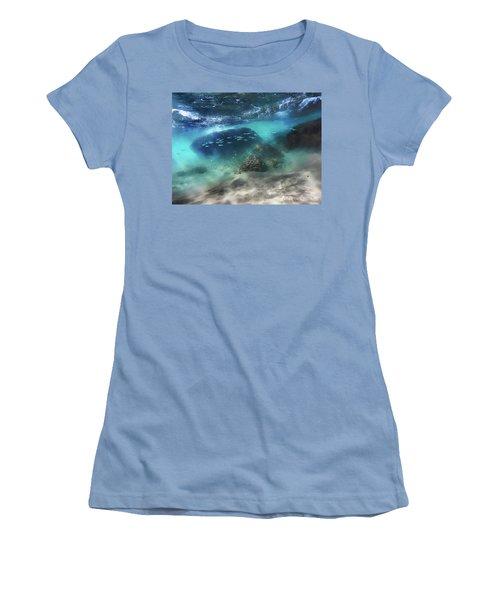Underwater Women's T-Shirt (Athletic Fit)