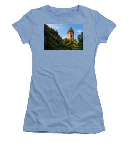 Unique Kirants Monastery On A Sunny Day, Armenia Women's T-Shirt (Athletic Fit)