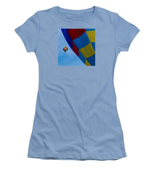 Up And Away 1 12x12 Women's T-Shirt (Athletic Fit)