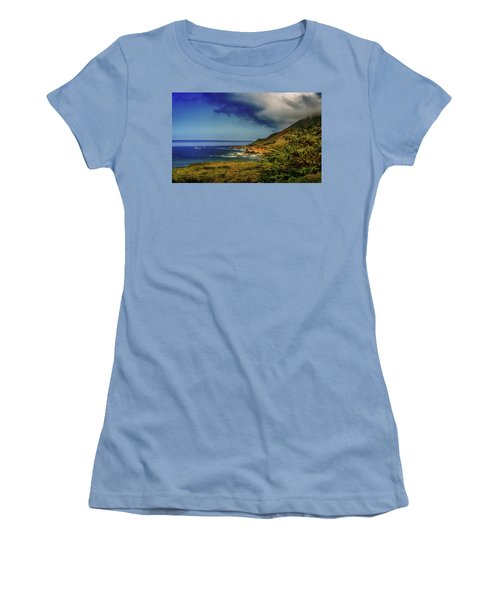 Up Coast Women's T-Shirt (Junior Cut) by Joseph Hollingsworth