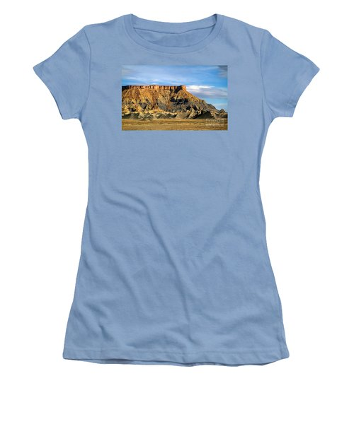 Utah Butte Women's T-Shirt (Athletic Fit)