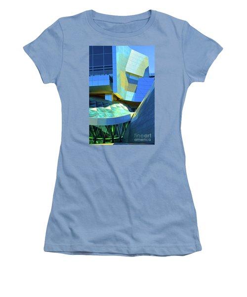 Utzon Center In Aalborg Denmark Women's T-Shirt (Junior Cut) by Eva Kaufman