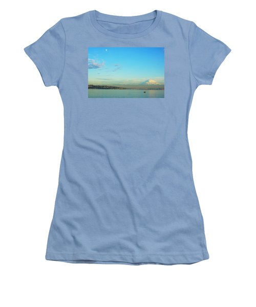 Women's T-Shirt (Junior Cut) featuring the photograph Vashon Island by Angi Parks