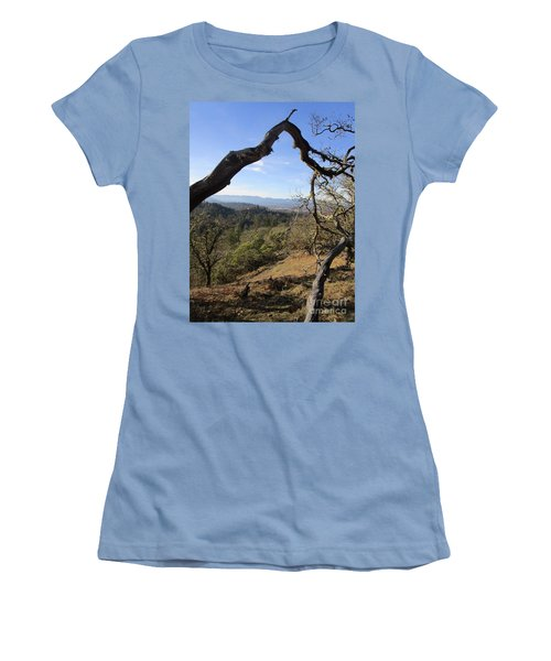 View From Cathedral Hills Women's T-Shirt (Athletic Fit)