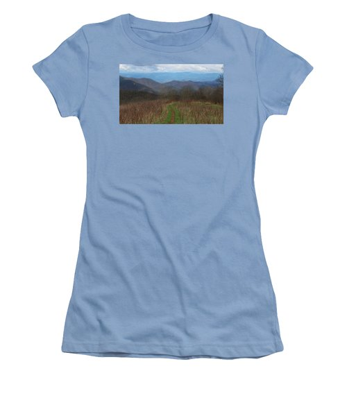 View From Silers Bald 2015a Women's T-Shirt (Athletic Fit)