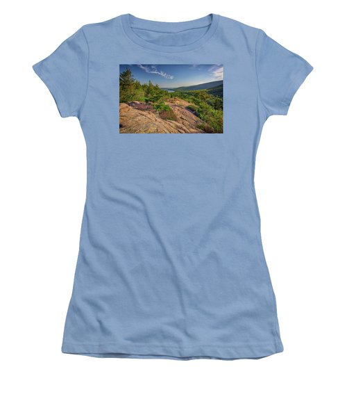 View From South Bubble Women's T-Shirt (Junior Cut) by Rick Berk