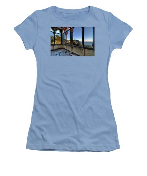 Villa Of Windows On The Sea - Villa Delle Finestre Sul Mare II Women's T-Shirt (Athletic Fit)