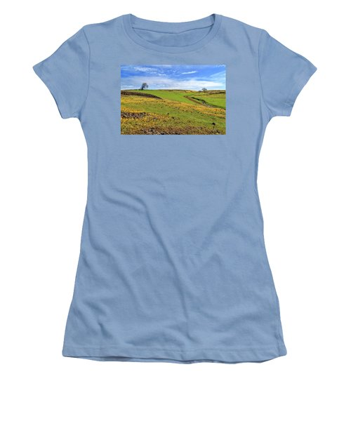 Women's T-Shirt (Junior Cut) featuring the photograph Volcanic Spring by James Eddy