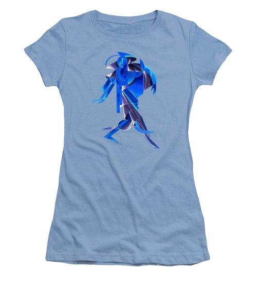 Walking On Water Women's T-Shirt (Athletic Fit)