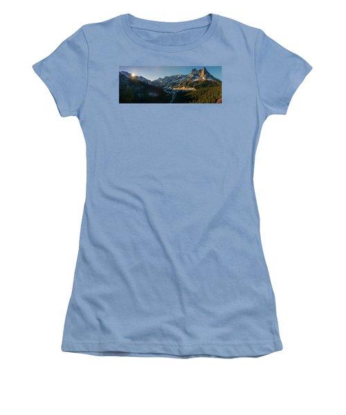 Washington Pass Rising Women's T-Shirt (Athletic Fit)