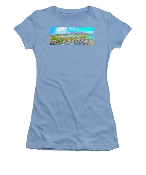 Water For Irrigation  Women's T-Shirt (Athletic Fit)