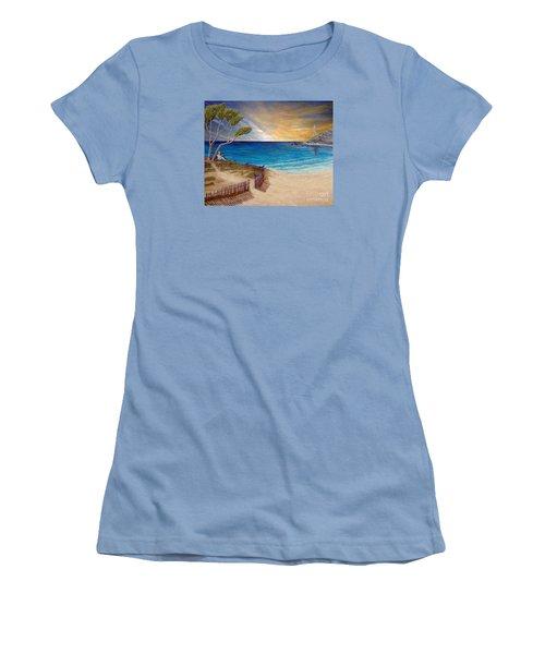 Way To Escape Women's T-Shirt (Junior Cut) by Kimberlee Baxter