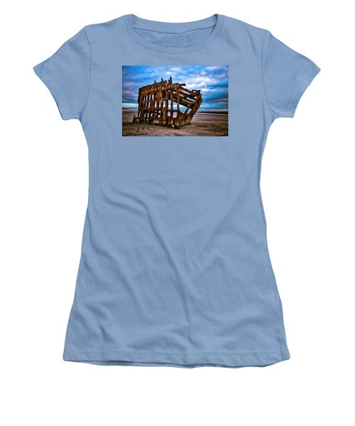 Weathered Shipwreck Women's T-Shirt (Athletic Fit)