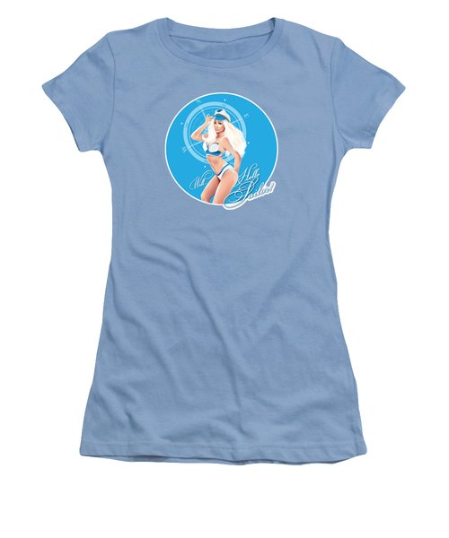 Well Hello Sailor Women's T-Shirt (Athletic Fit)