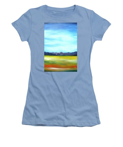 West Texas Landscape Women's T-Shirt (Athletic Fit)