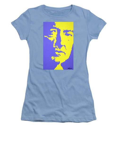 Willie Nelson In The Mirror Women's T-Shirt (Athletic Fit)