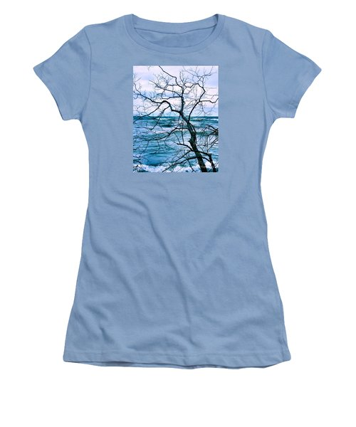 Women's T-Shirt (Junior Cut) featuring the photograph Wind Swept by Heather King