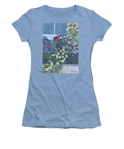 Window Box Women's T-Shirt (Athletic Fit)