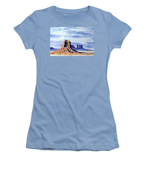 Winter At Merrick Butte Women's T-Shirt (Athletic Fit)
