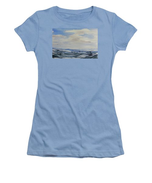 Winter Wilds Women's T-Shirt (Athletic Fit)