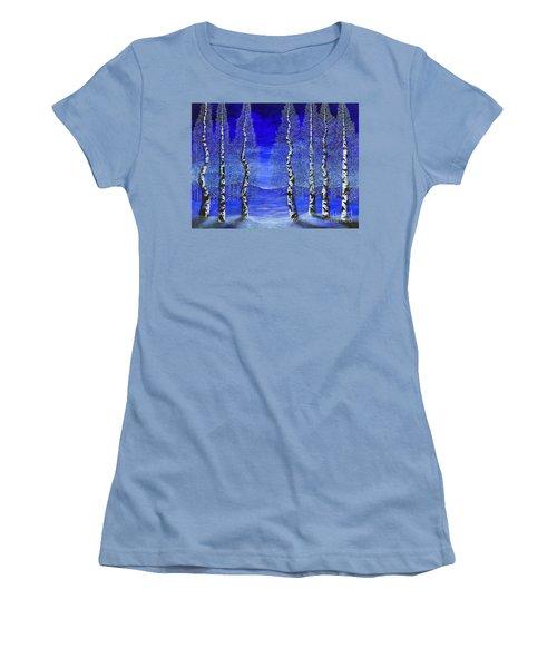 Winters Raven Aspen Women's T-Shirt (Athletic Fit)