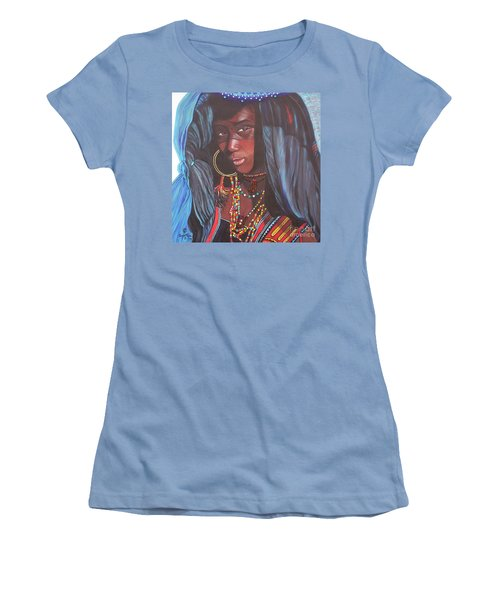 Wodaabe Girl Women's T-Shirt (Athletic Fit)