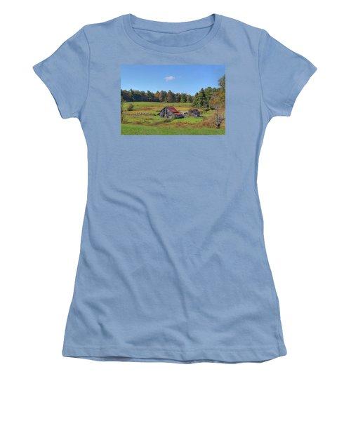 Worn Out Women's T-Shirt (Junior Cut) by Sharon Batdorf