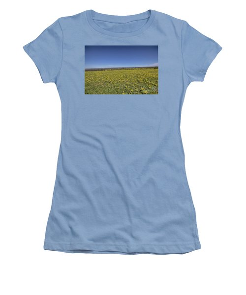 Yellow Blanket II Women's T-Shirt (Junior Cut) by Douglas Barnard
