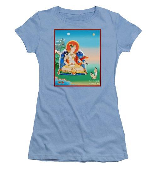 Yeshe Tsogyal Women's T-Shirt (Junior Cut) by Sergey Noskov