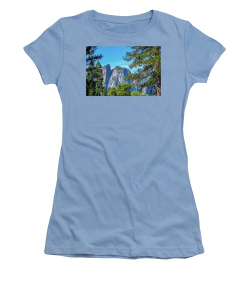 Yosemite Morning Women's T-Shirt (Athletic Fit)
