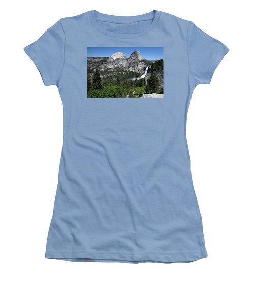 Yosemite View 30 Women's T-Shirt (Junior Cut) by Ryan Weddle