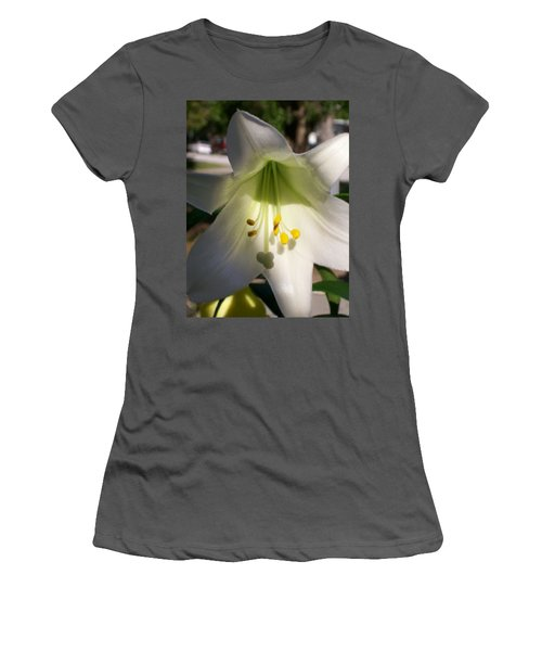 Women's T-Shirt (Junior Cut) featuring the photograph  Easter Peace by Belinda Lee