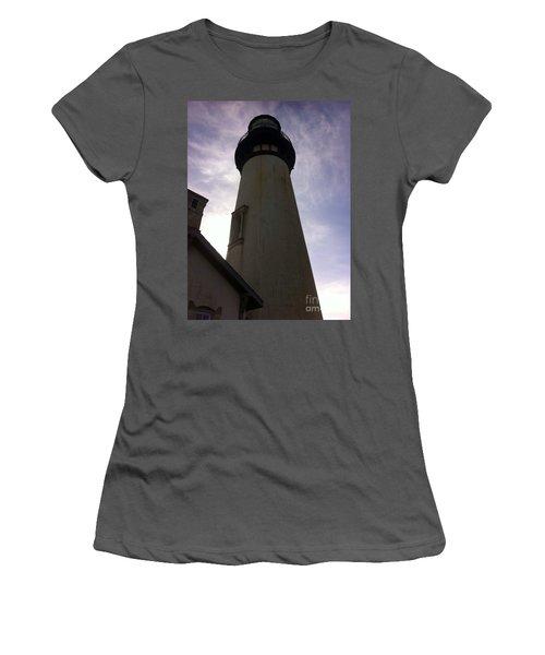 Light House Sky Women's T-Shirt (Junior Cut) by Susan Garren