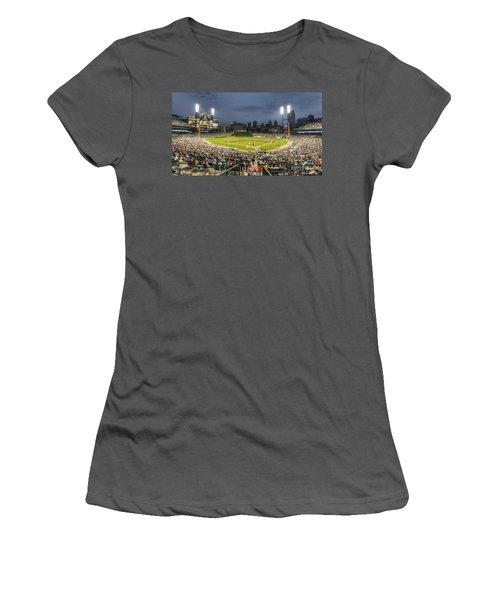 0101 Comerica Park - Detroit Michigan Women's T-Shirt (Junior Cut) by Steve Sturgill