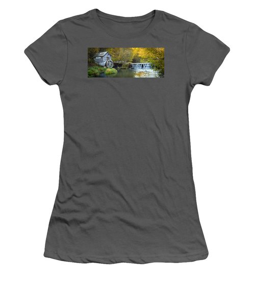 0291 Hyde's Mill Wisconsin Women's T-Shirt (Junior Cut) by Steve Sturgill