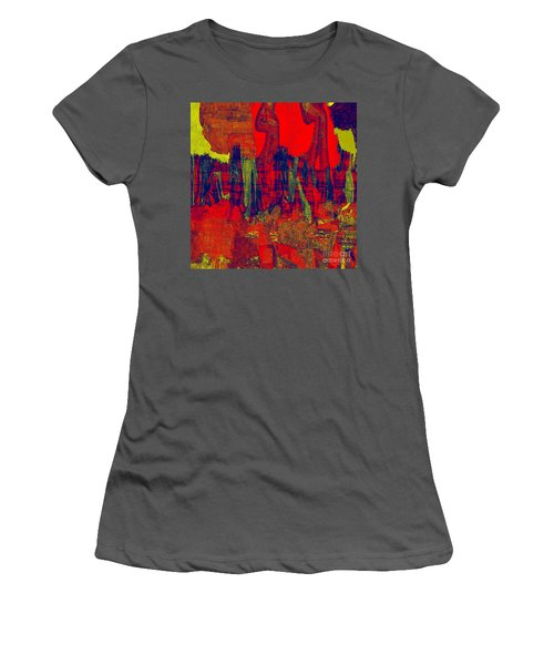 0486 Abstract Thought Women's T-Shirt (Athletic Fit)