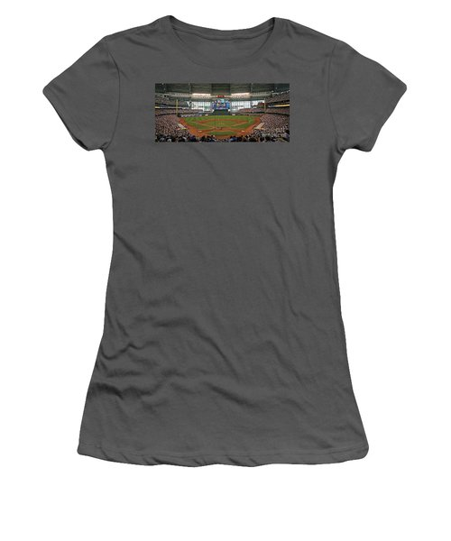 0613 Miller Park Women's T-Shirt (Junior Cut) by Steve Sturgill
