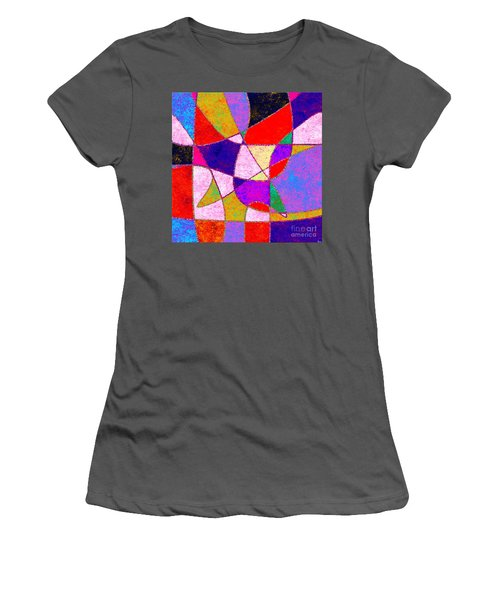 0269 Abstract Thought Women's T-Shirt (Athletic Fit)