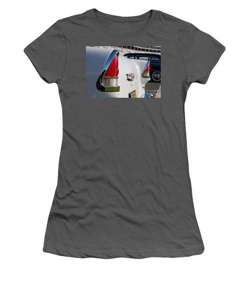 1955 Chevy Bel Air Women's T-Shirt (Junior Cut) by Kevin McCarthy