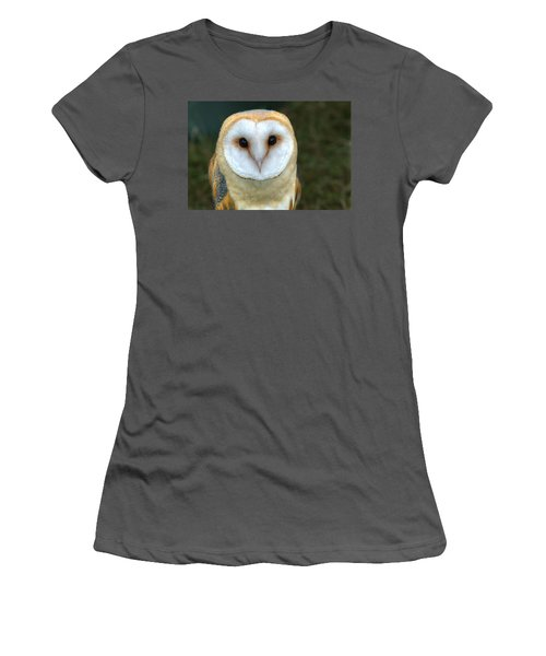 Barn Owl Women's T-Shirt (Athletic Fit)
