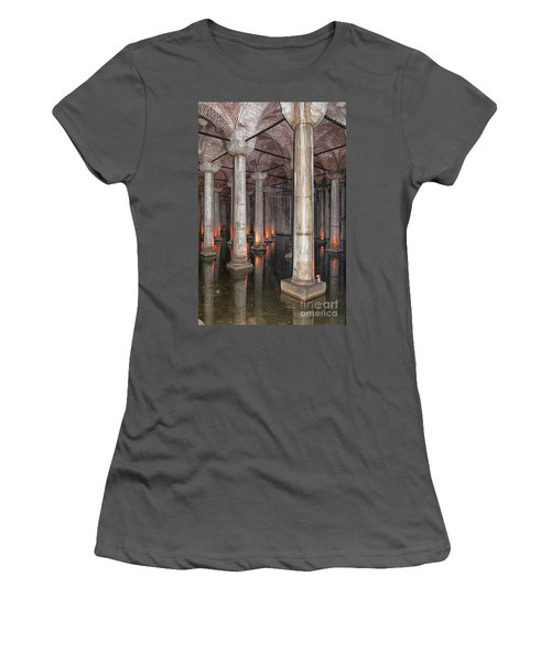 Basilica Cistern 02 Women's T-Shirt (Athletic Fit)