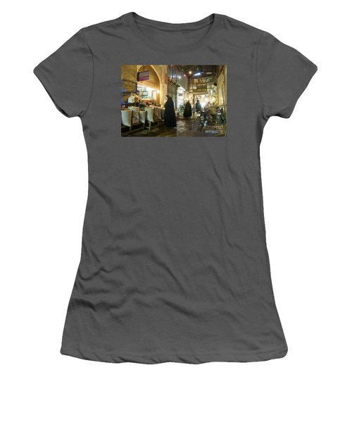 Bazaar Market In Isfahan Iran Women's T-Shirt (Athletic Fit)