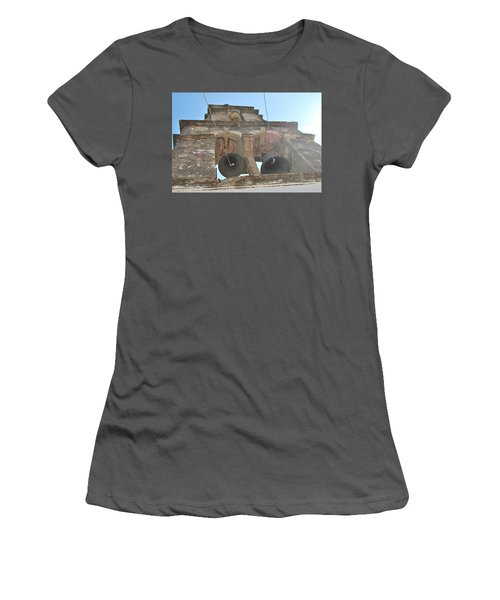 Women's T-Shirt (Junior Cut) featuring the photograph Bell Tower 1584 by George Katechis