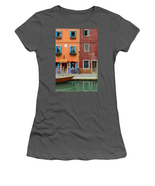 Burano Italy Women's T-Shirt (Athletic Fit)