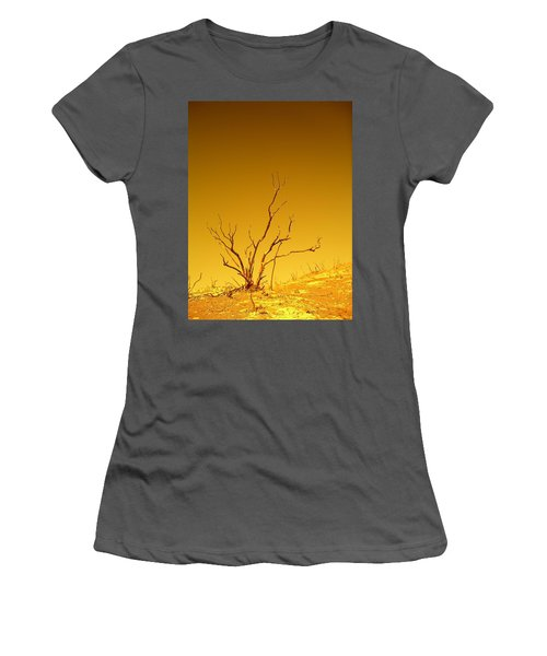 Burnt Bush Women's T-Shirt (Athletic Fit)