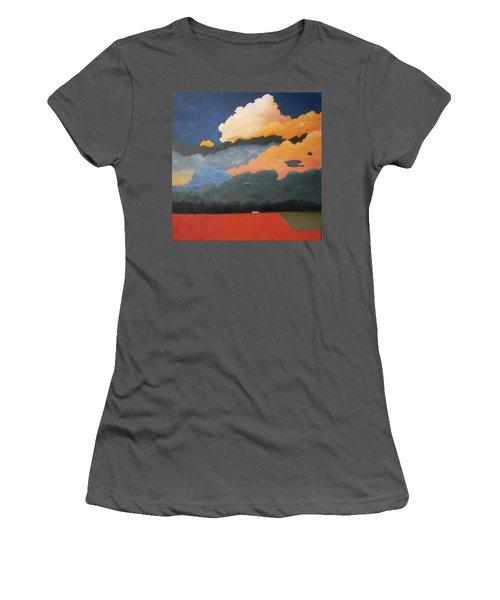 Cloud Rising Women's T-Shirt (Junior Cut) by Gary Coleman