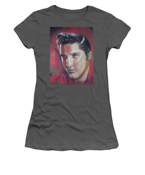 Elvis Women's T-Shirt (Junior Cut) by Peter Suhocke