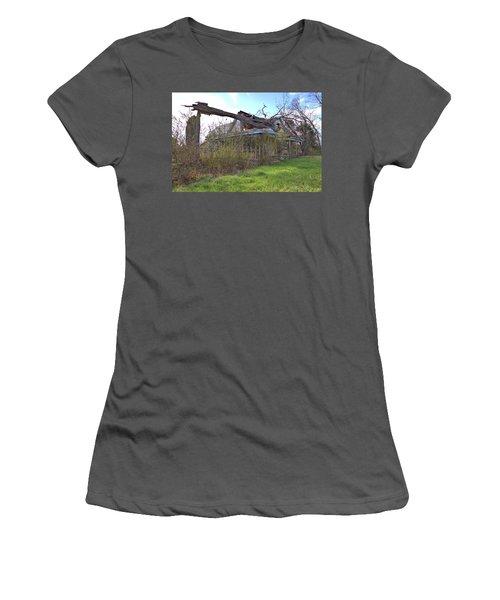 Fixer Upper Women's T-Shirt (Junior Cut) by Gordon Elwell
