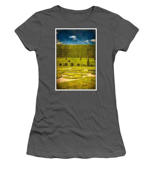 Hampton Court 'the Privy Garden Women's T-Shirt (Athletic Fit)